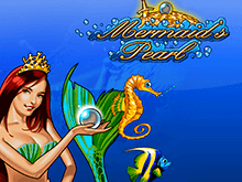 Автомат Mermaid's Pearl в казино Вулкан